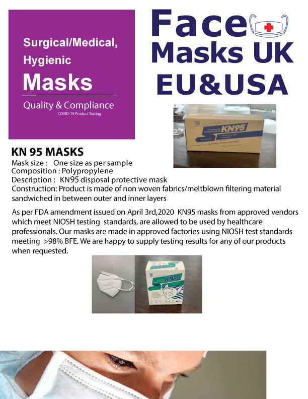 KN95 Masks - PPE